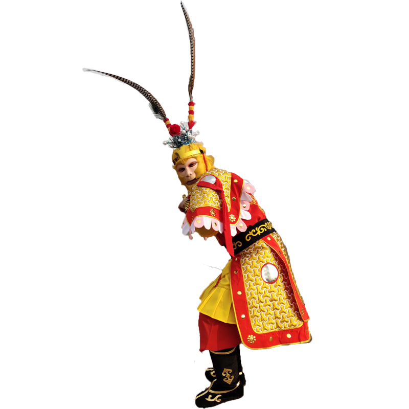 猪年爆款美猴王套装成人猴子表演服孙悟空的衣服齐天大圣演出服装