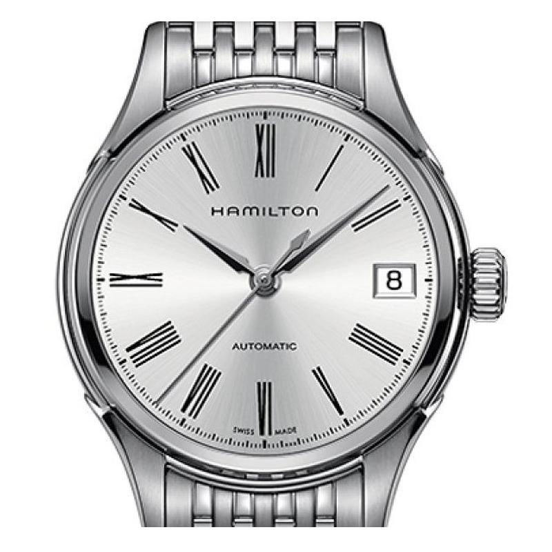 汉米/汉密尔顿Hamilton爵士系列机械表手表钢带女表H39415154