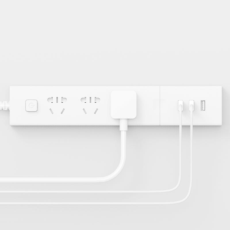 插座家用多功能排插创意智能插座面板多孔接线板带开关转换头 USB
