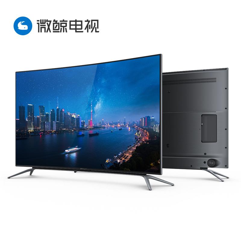 60 智能网络液晶平板电视 超清 4K 曲面 55 W55C1T 微鲸 whaley