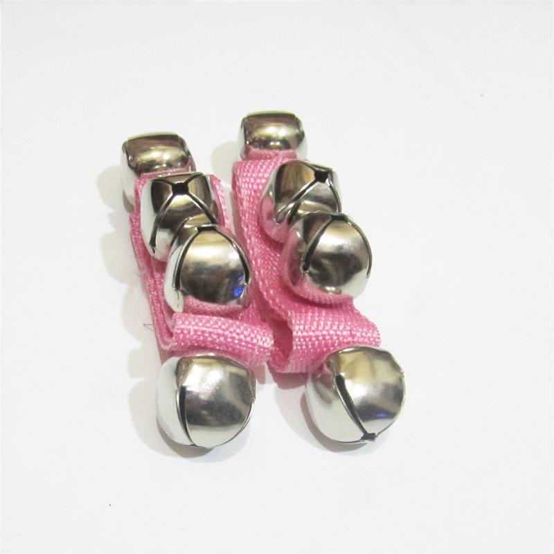 包邮婴儿宝宝玩具手铃腕铃响铃脚铃儿童非洲鼓舞蹈腕带布艺摇铃铛