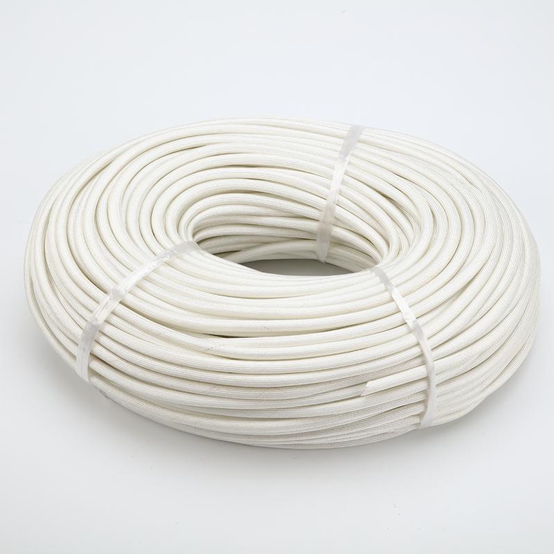 耐高温套管 绝缘阻燃定纹管 电线保护套黄腊管玻璃纤维套管玻纤管