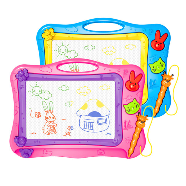 Children's drawing board magnetic color large writing board baby kindergarten graffiti drawing drawing board home drawing writing board toy