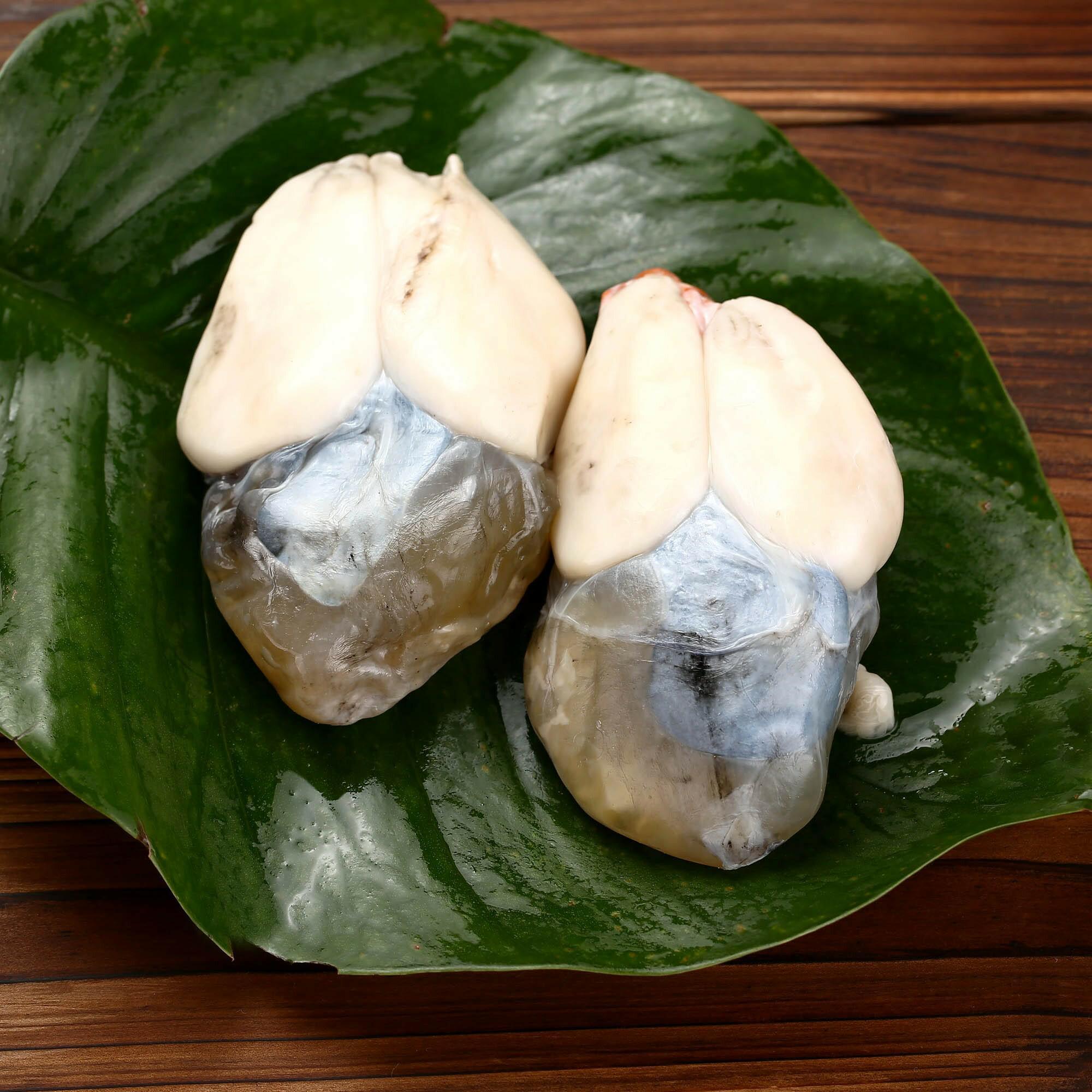 东海野生墨鱼蛋 个大乌贼蛋/目鱼蛋带膏 宁波腌制干水产海鲜500g