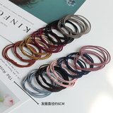 Girlskin skin rib hair decoration children's head rope does not hurt hair rubber band Korea 2019 new hair ring cord