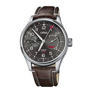 豪利时Oris瑞士手表航空系列男运动国际联保真皮宝铂宝玑男士
