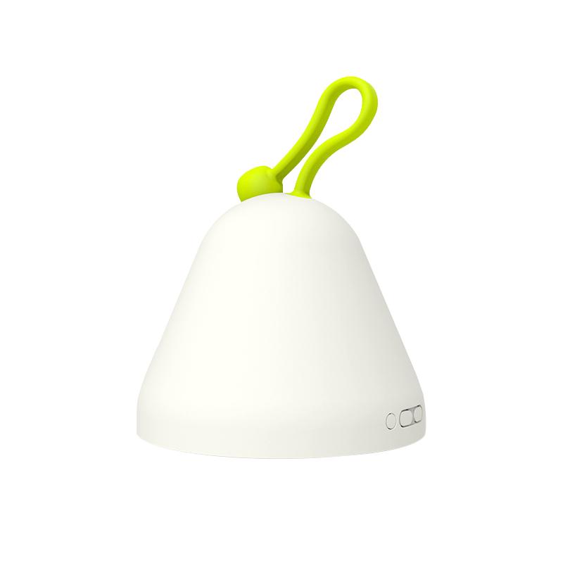 小夜 喂奶卧室床头多功能闹钟温度湿度计 充电母婴儿童 led 翻翻灯