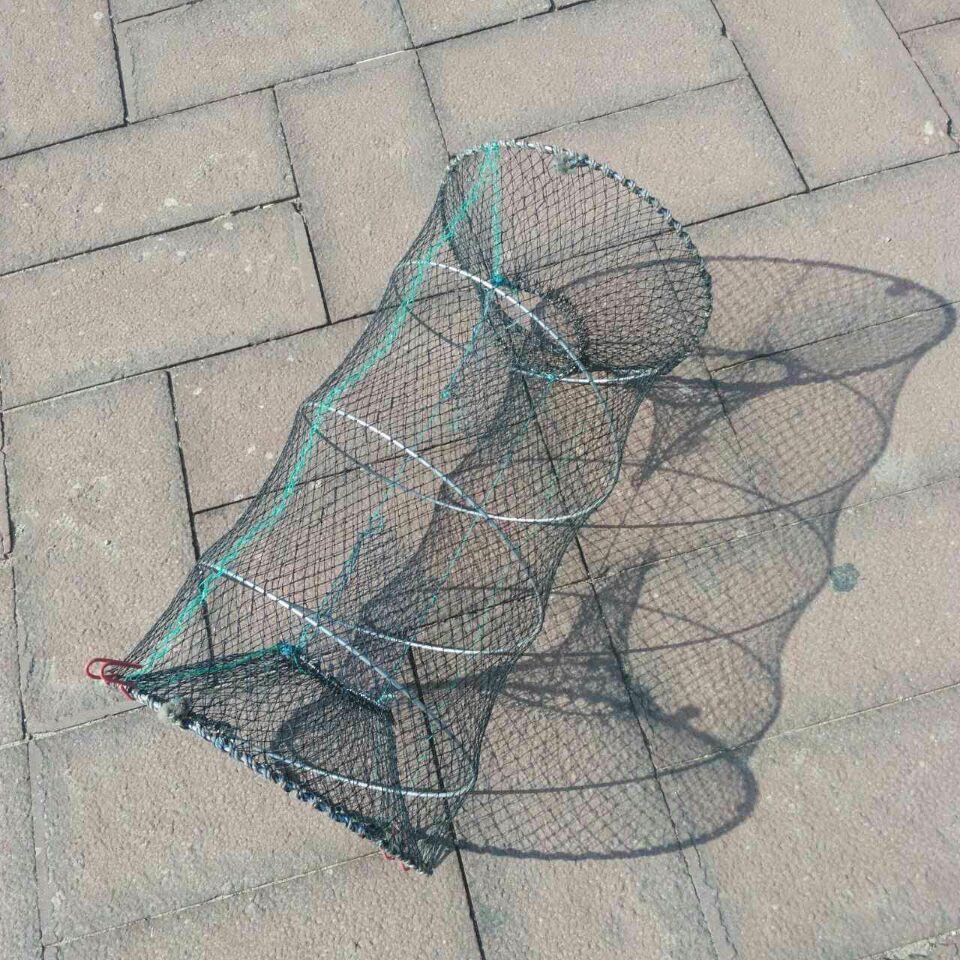 虾笼蟹子笼螃蟹龙虾泥鳅鱼圆虾笼渔笼鱼笼新品传统折叠螃蟹笼子