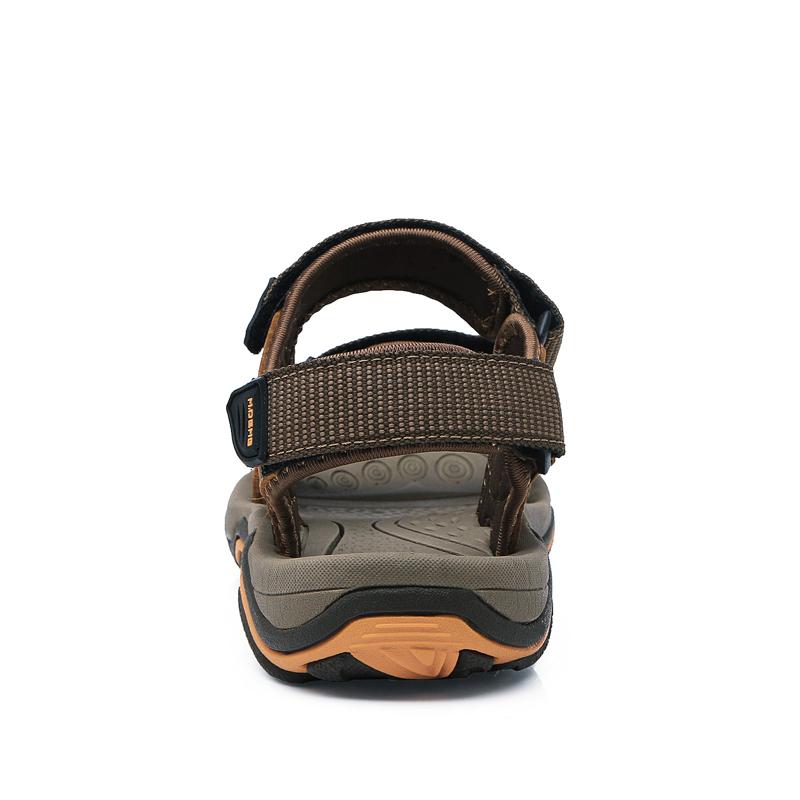 天天特价夏季沙滩凉鞋男士真皮沙滩鞋防滑涉水鞋速干户外运动凉鞋