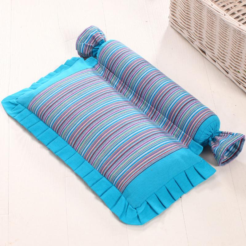 颈椎枕头修复颈椎专用荞麦枕成人护颈枕单人脊椎矫正病人保健枕芯