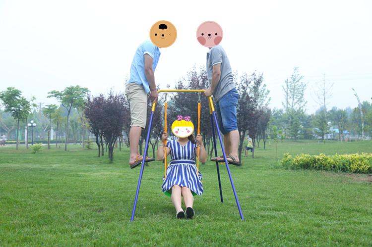 婴幼儿童荡秋千室内户外家用宝宝玩具小孩吊椅婴儿摇篮折叠组合架