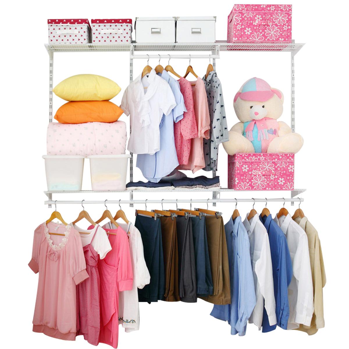 美达斯1.8米衣帽间定制卧室衣柜整体衣橱储物间收纳步入式衣帽间