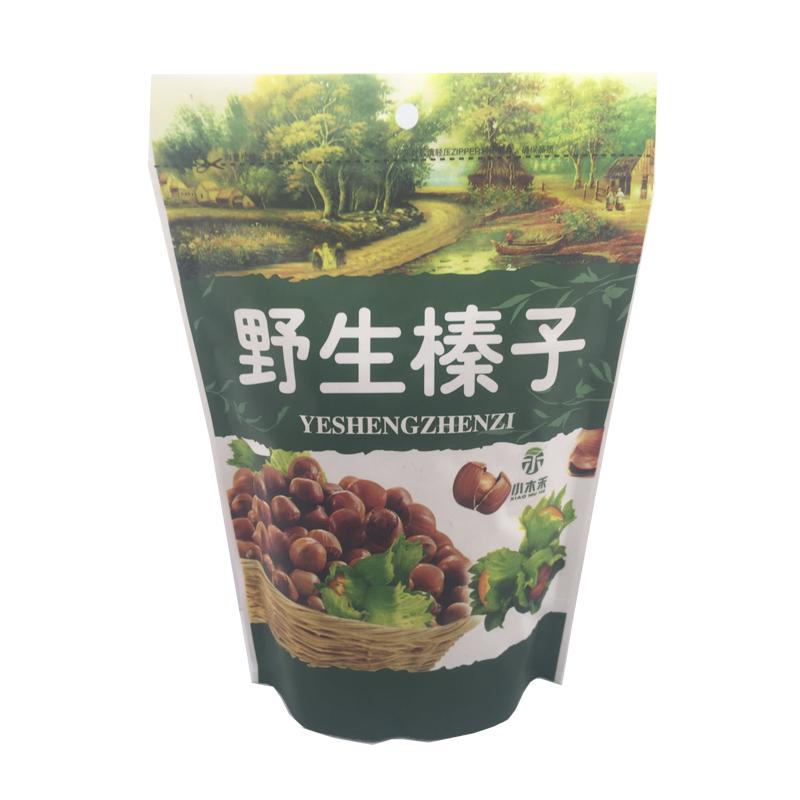 【小木禾】野生开口榛子产自小兴安岭人工开口机器炒制18年新品