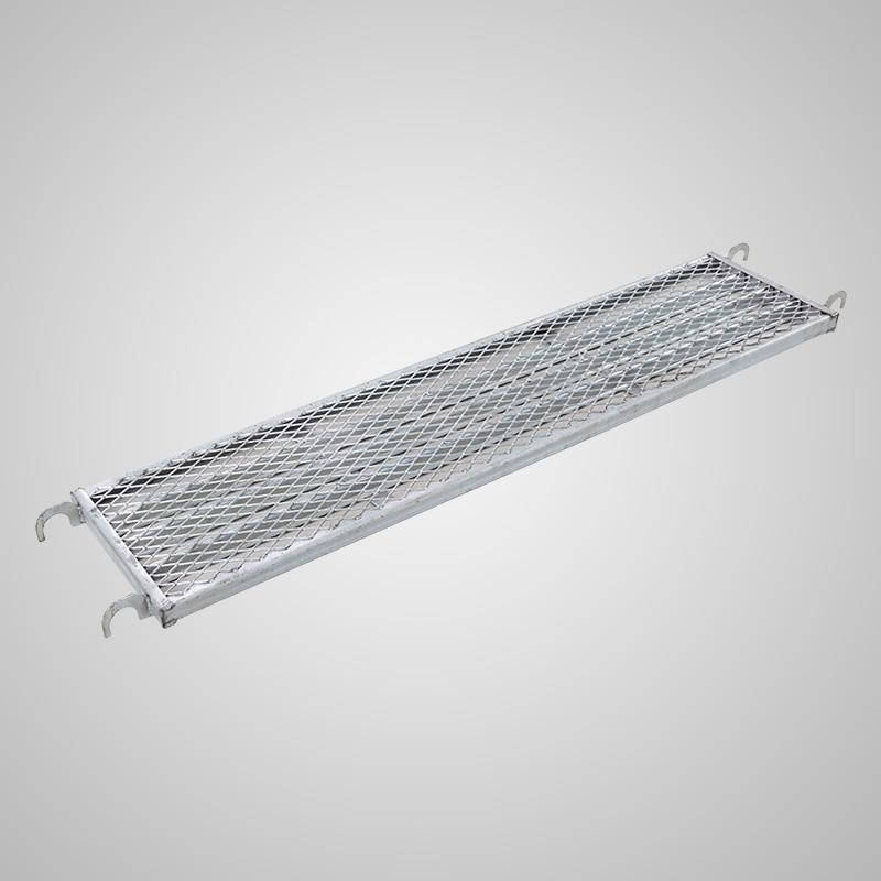 龙鳞宫(A级镀锌特厚)活动脚手架 移动半架 1米护栏 半高围栏