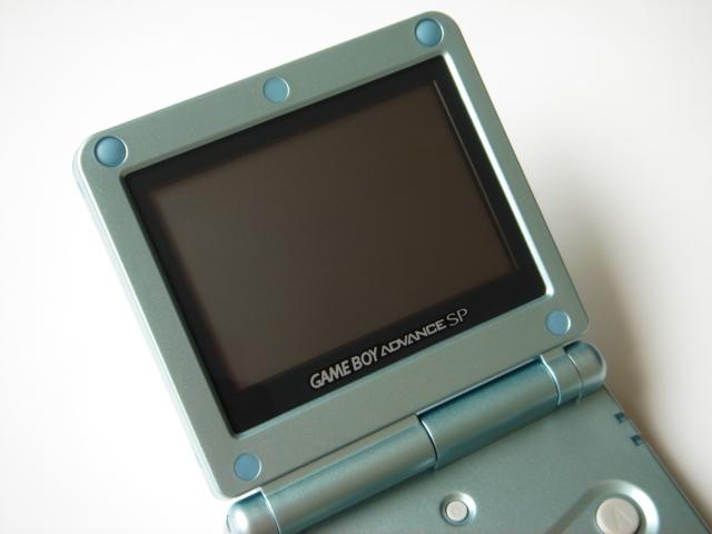 原装GAMEBOY GBASP掌上游戏机80后童年怀旧复古老式掌机GBA高亮