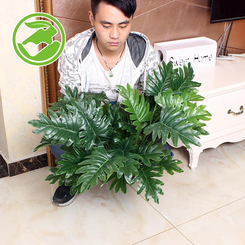 招财仿真植物树绿植盆栽假花装饰塑料盆景客厅仿真花室内假发财树