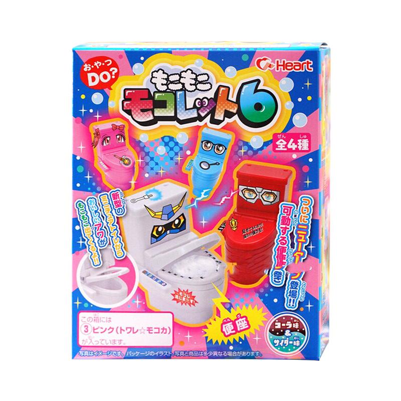 日本食玩马桶坐便器糖diy曰本浴缸饮料手工食完玩具可食小伶玩具