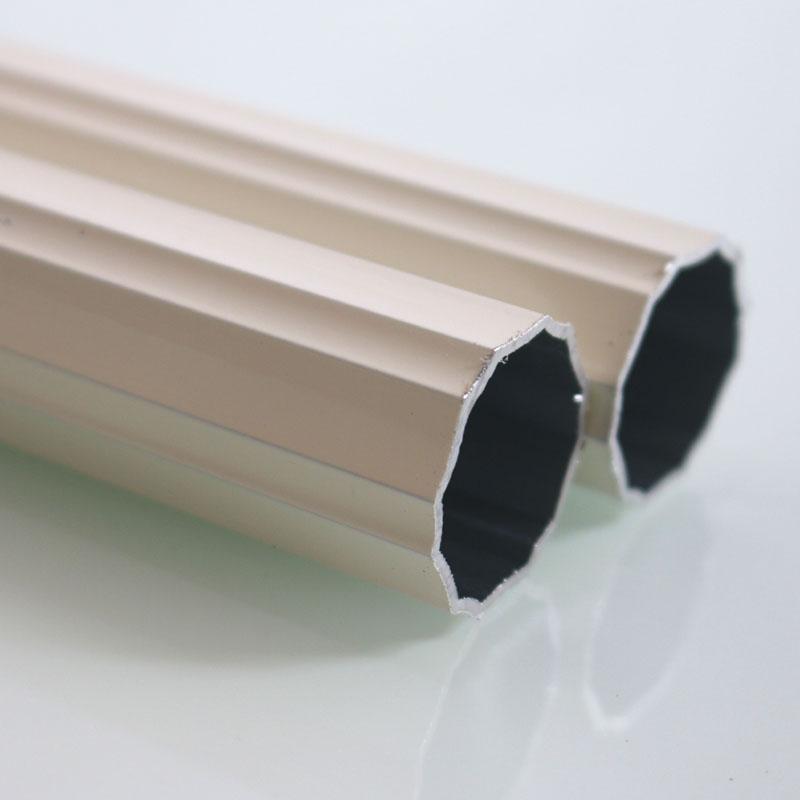 特价 罗马杆窗帘杆铁杆包塑金属单杆双杆窗帘轨道钠米静音环