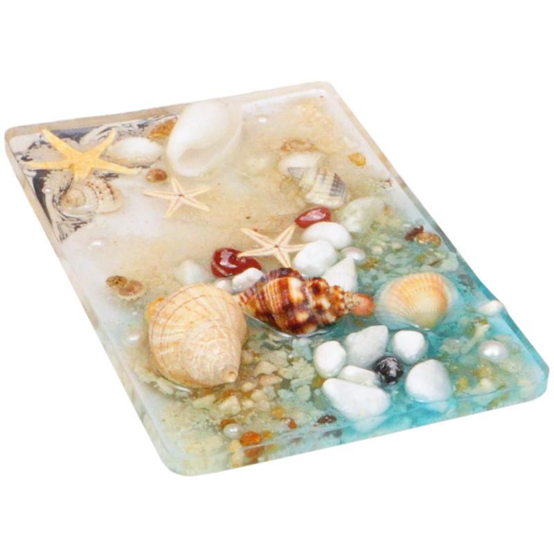 海螺贝壳海星鱼缸珠珊瑚沙石头DIY漂流瓶海洋压板材料史莱姆填充