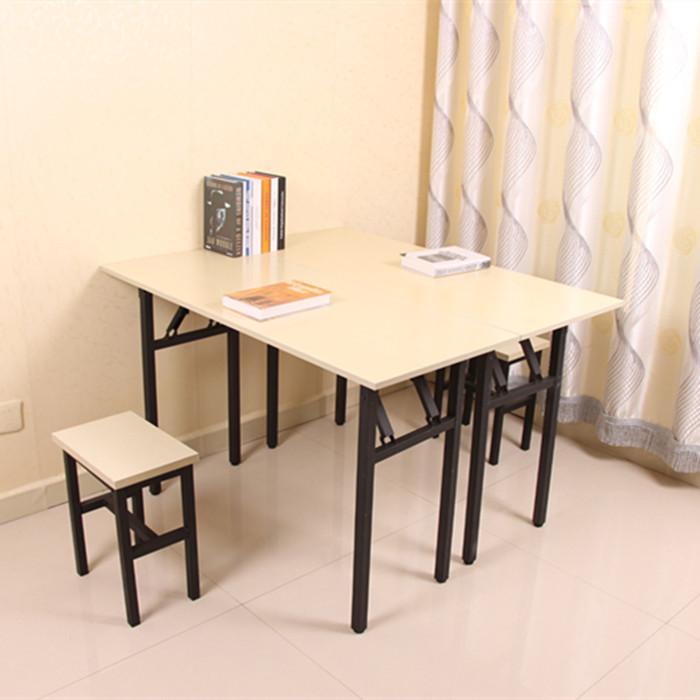 摺疊桌ibm桌簡易摺疊桌長條桌辦公桌電腦桌餐桌培訓書桌摺疊書法