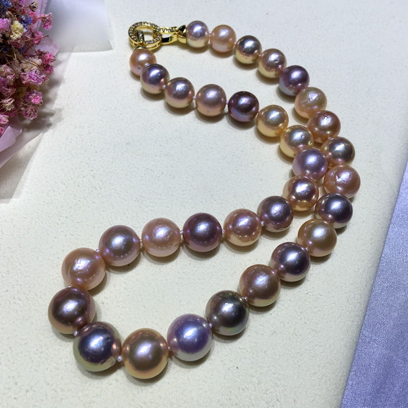 天然珍珠项链手链戒指吊坠胸花等珍珠饰品 成品售卖
