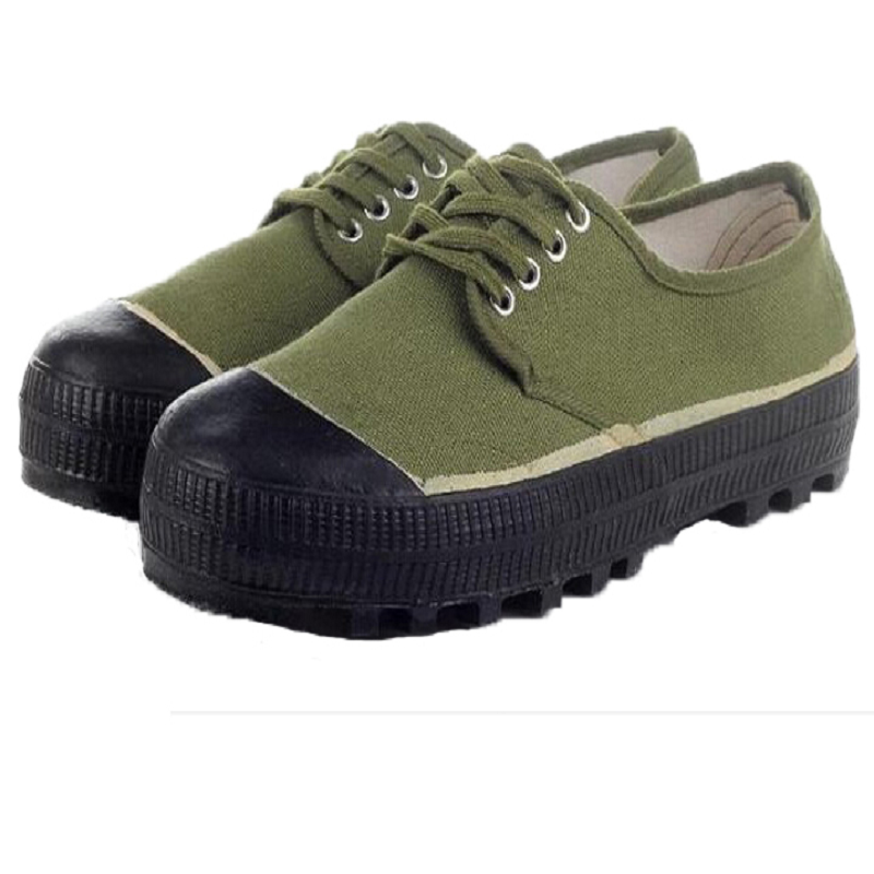 解放鞋黄球鞋帆布胶鞋工地上班防滑耐磨工作跑步劳保鞋 3539 直销