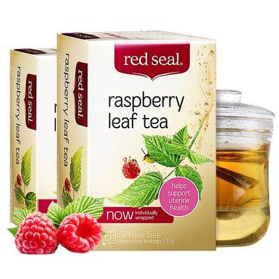 redseal紅印覆盆子葉茶新西蘭進口軟化宮頸呵護子宮花草茶養生2盒