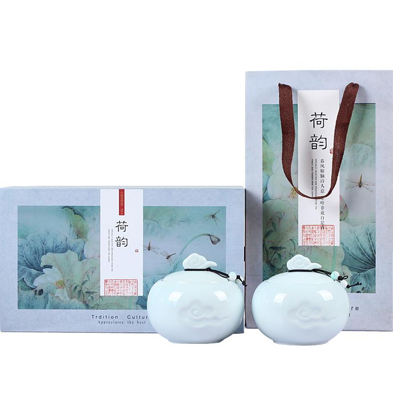 陶瓷罐礼盒装送礼 250g 雨前特产新茶春茶绿茶 2018 正宗南京雨花茶