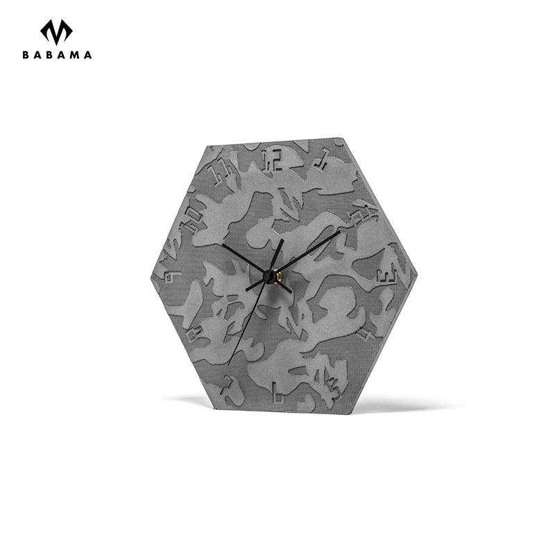 北欧客厅钟表现代简约时钟个姓创意时尚钟家用大气挂钟 babama