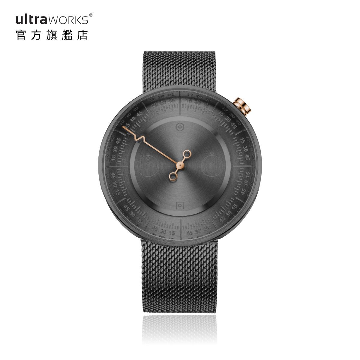 设计师手表原创概念男女简约石英表小众国产腕表 003 ULTRAWORKS
