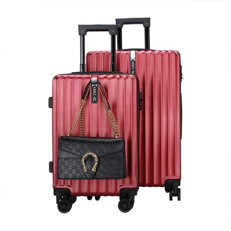 ins 拉链男网红女行李箱 22 寸大学生 24 旅行密码皮箱万向轮 20 拉杆箱