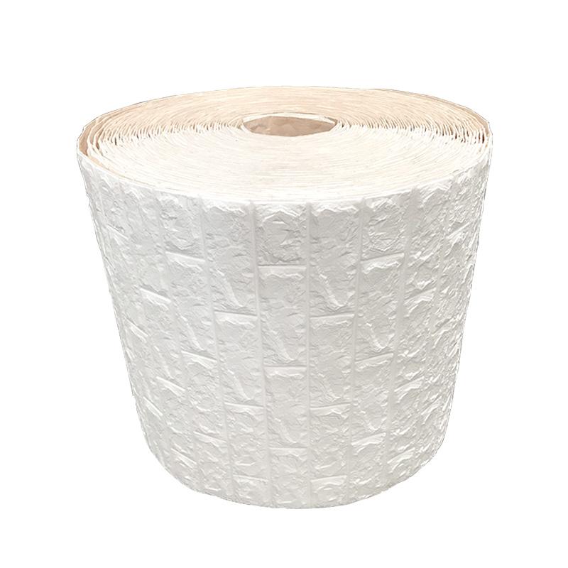 立体墙纸自粘翻新宿舍卧室温馨装饰背景墙 3d 加厚纯色防水防潮壁纸
