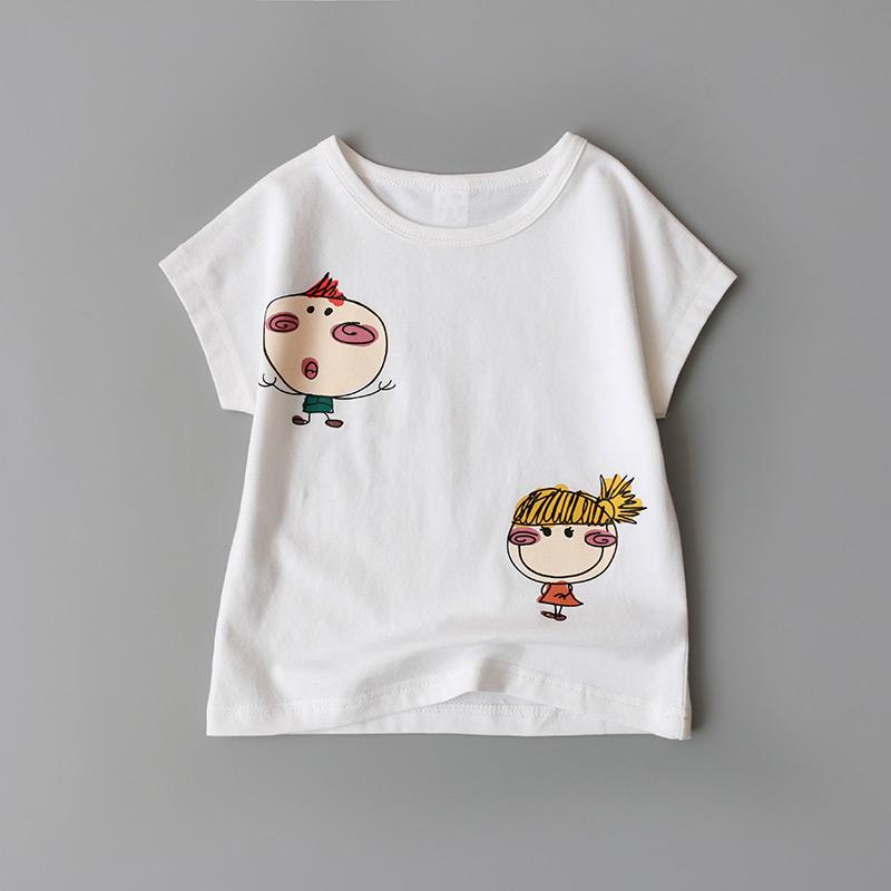 乐努比童装男童女宝宝夏装套装0-1-2-3-4岁女童婴儿衣服夏天潮