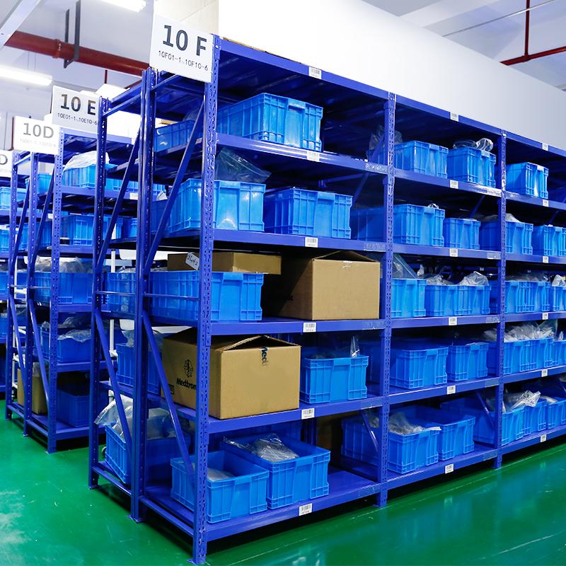 实邦货架仓储铁架子仓库货架置物架家用多层货架展示架自由组合