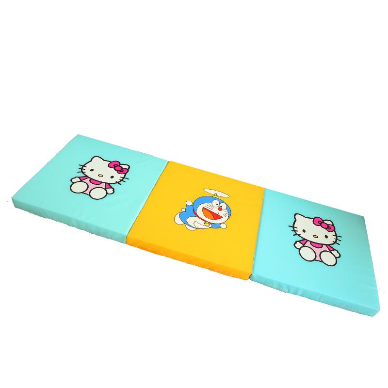 柒小诺婴儿爬行垫拼接床拦海绵垫宝宝防摔地垫加厚折叠游戏垫8cm