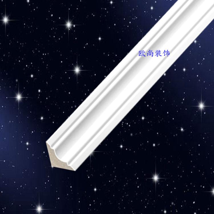 3.5公分三角形PS发泡装饰线条阴角线顶角线天花角线厂家直销