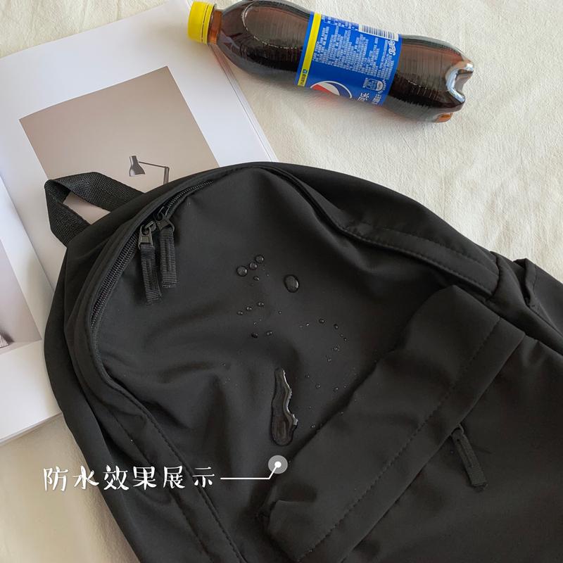 无印系列大容量书包女韩版原宿ulzzang大学生背包高中ins风双肩包
