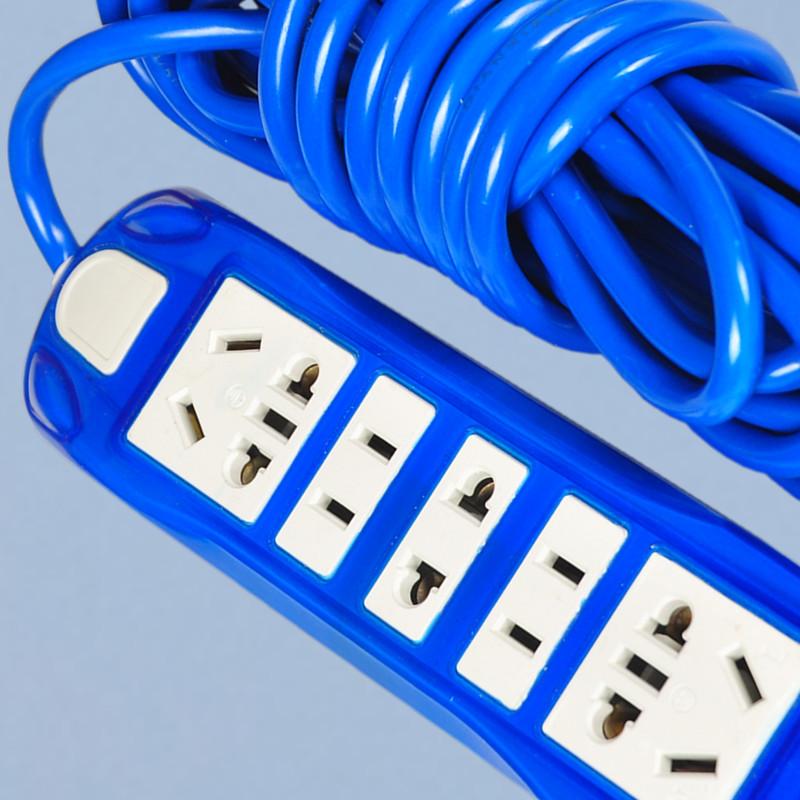 多功能加长线电源插座家用多孔延长线插排排插板带线接线板拖线板