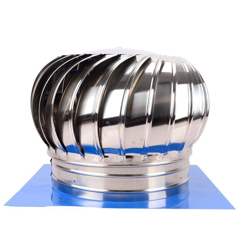 500型不锈钢无动力风帽屋顶通风器通风机通风球排风扇排气扇风球
