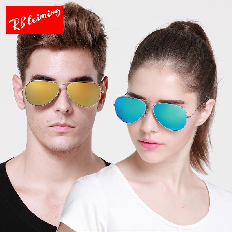 雷明偏光太阳镜 男女墨镜 驾驶镜蛤蟆镜 飞行员彩膜出行