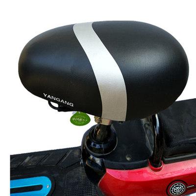 電動車座電瓶自行車坐墊軟山地車通用單車配件鞍座加大鐵面包座子