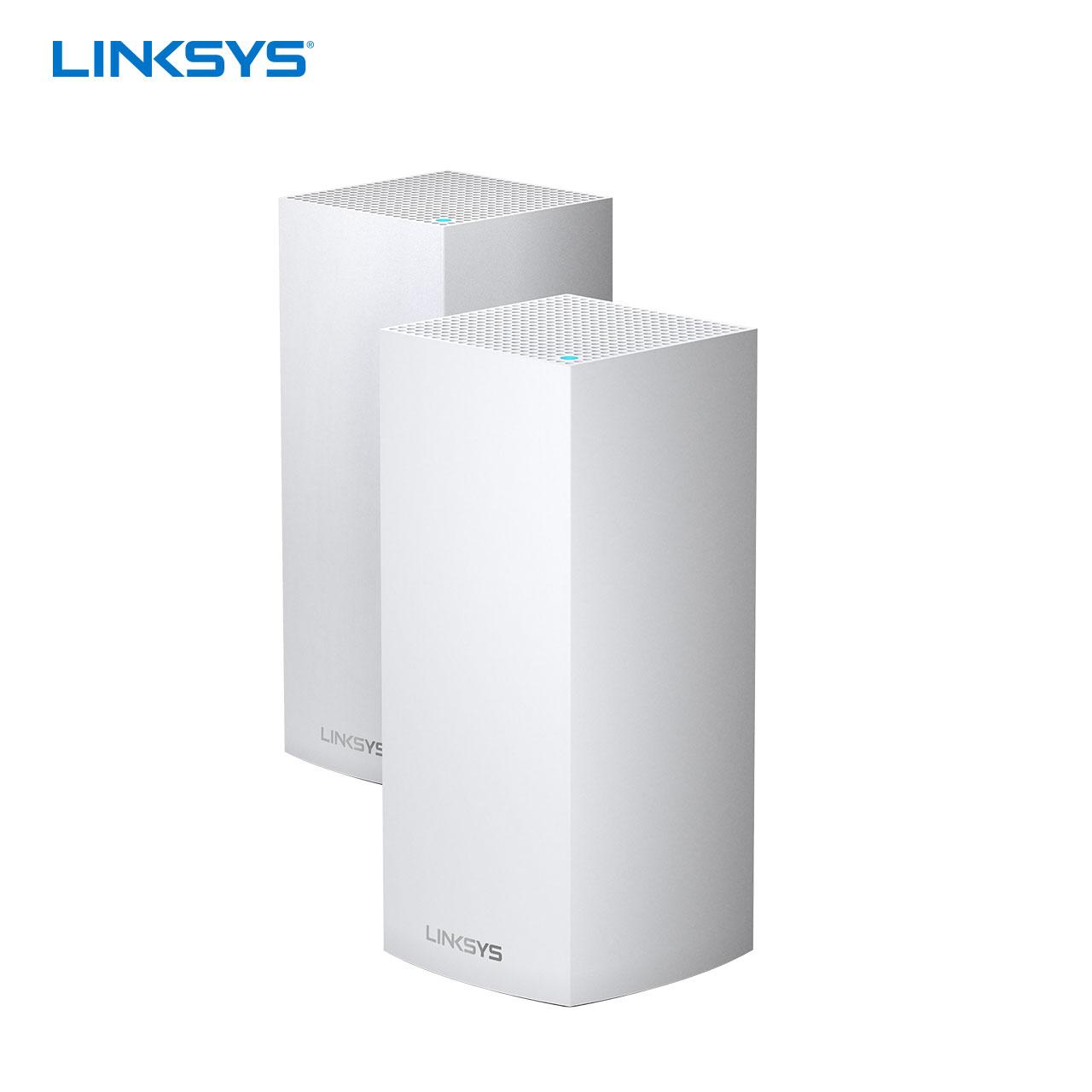 MX8400 分布式无线覆盖系统智能家用广覆盖穿墙强 MESH 路由器 WIFI6 三频全 VELOP 领势 LINKSYS