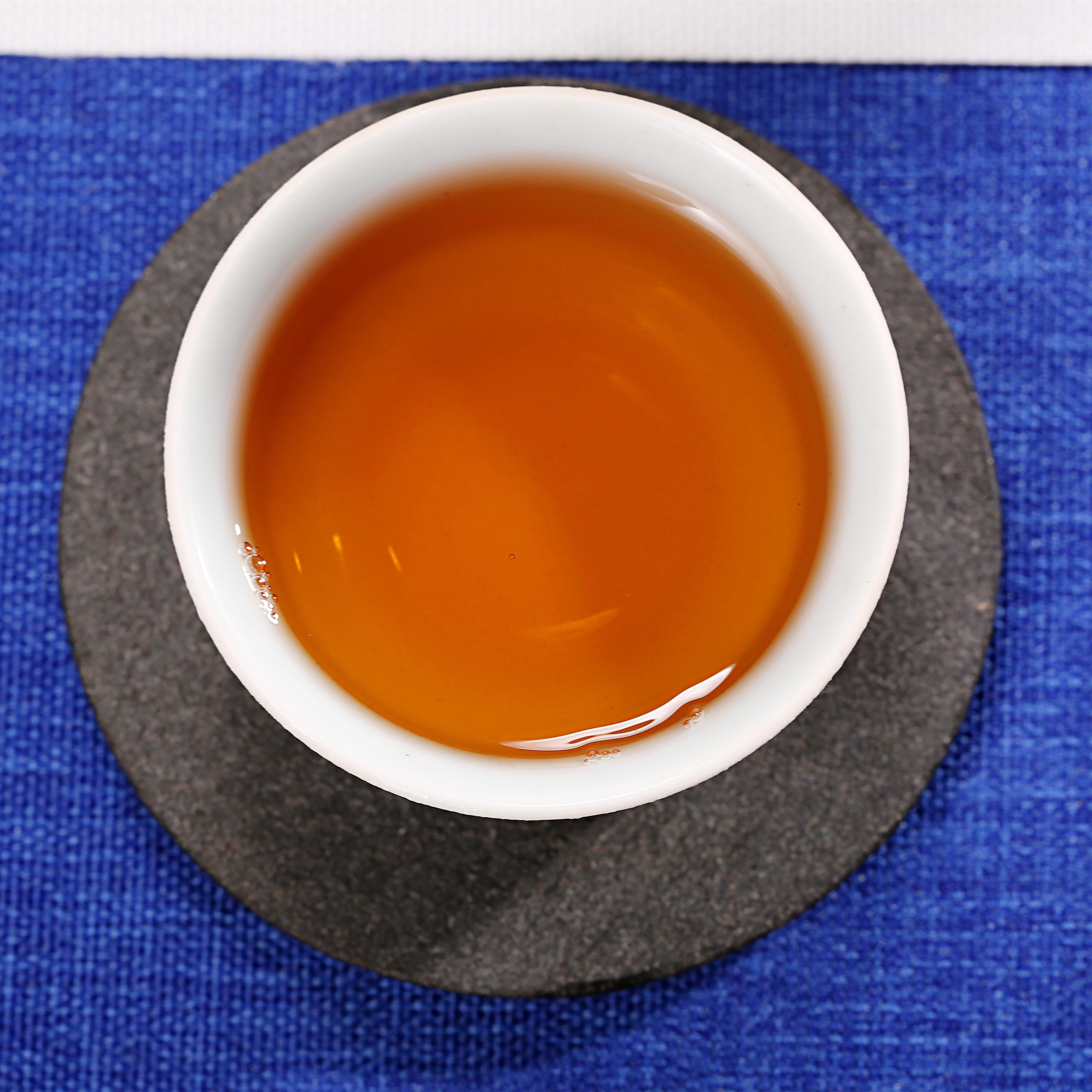 黑乌龙茶木炭技法油切浓香型安溪乌龙茶厂家直销谦润茗茶