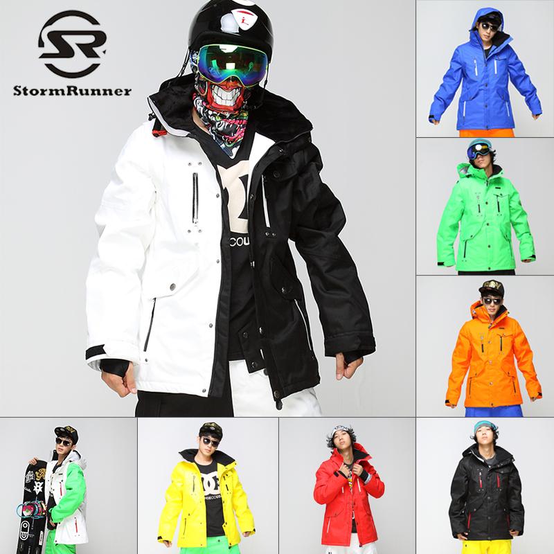 冬季新款單板雙板滑雪服男款美國加厚防水透氣保暖戶外滑雪上衣