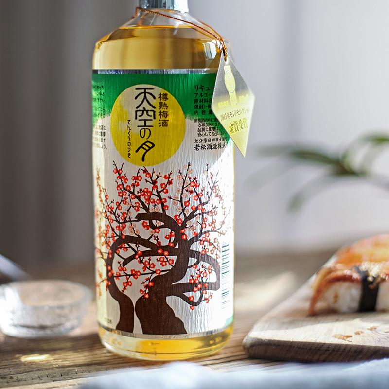 日本原瓶进口老松酒造天空之月樽熟梅酒 720ml 三年金奖受赏