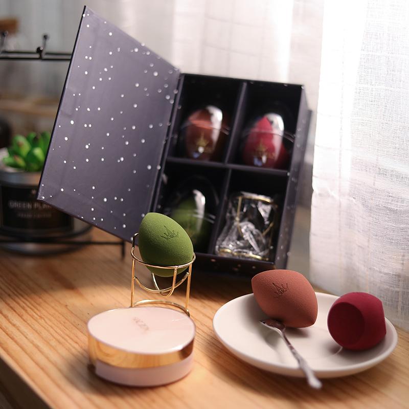 尔木萄美妆蛋葫芦粉扑化妆工具干湿两用海绵蛋 AMORTALS 不吃粉韩国