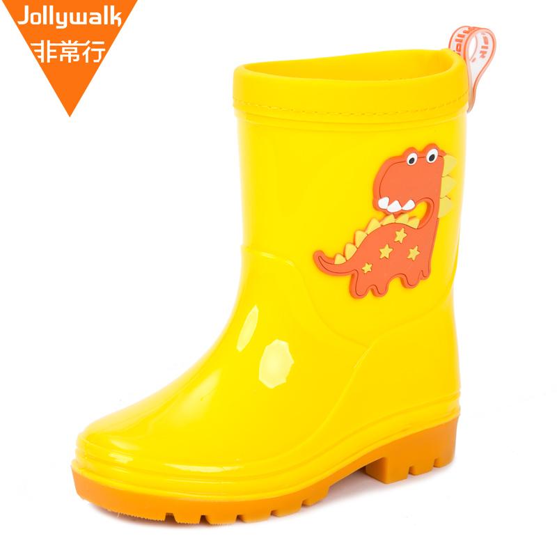 儿童雨鞋男童宝宝女童小童雨靴小孩幼儿水鞋防滑四季雨靴胶鞋卡通