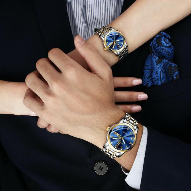 新款瑞之缘手表男机械表防水全自动时尚男士手表女款正品女名牌表