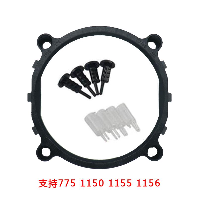 775風扇CPU超頻3電腦1366散熱器底座支架底板11562011英特爾扣具