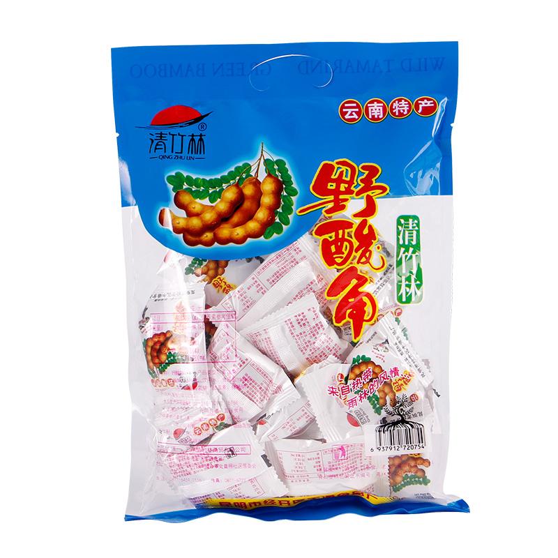 清竹林酸角云南特产冰糖酸角大王罗望子甜角孕妇酸豆角小包装零食